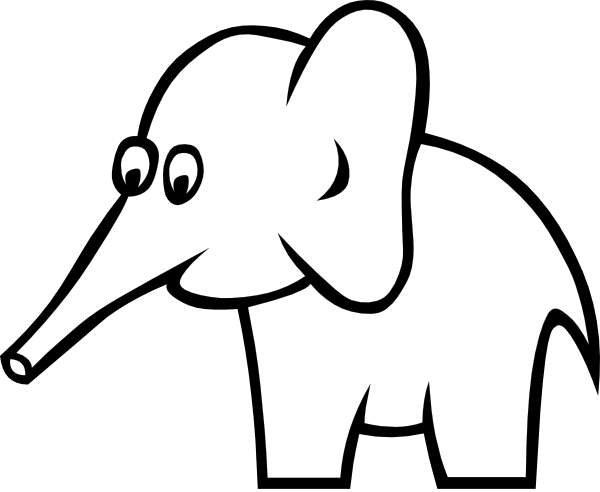 White Elephant Clip Art Cwemi Images Gal-White Elephant Clip Art Cwemi Images Gallery-16