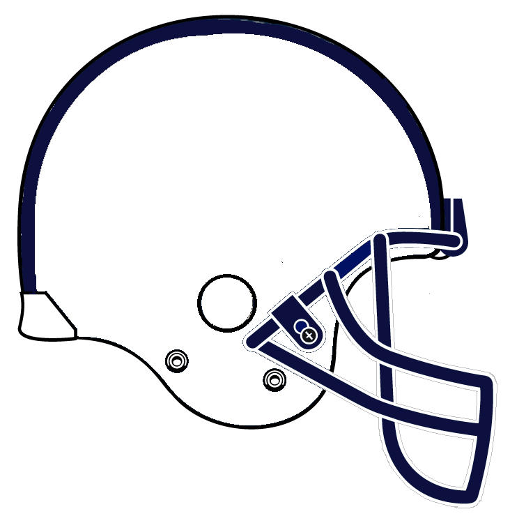 White football helmet clipart free clipart images