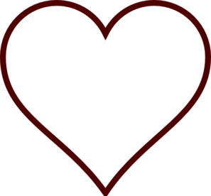 White Heart Clip Art At Clker Com Vector Clip Art Online Royalty