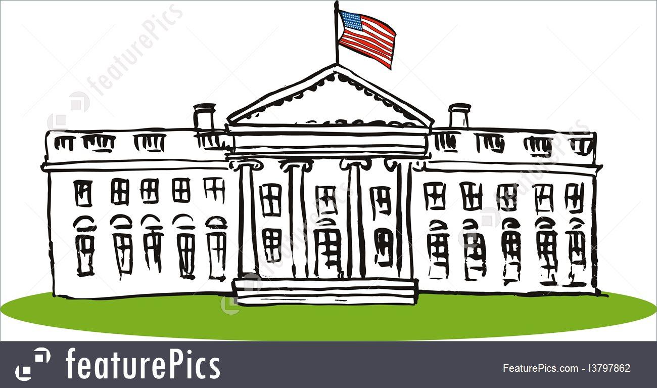 Clipart Of White House-Clipart Of White House-5