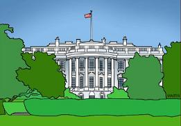 The White House - White House Clipart