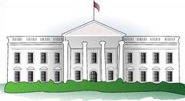 The White House Clipart - White House Clipart