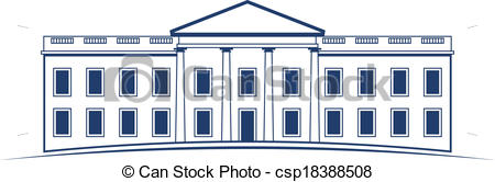 Vector Logo White House