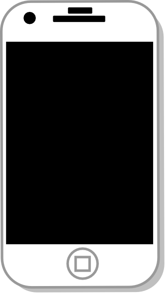 White Iphone Clip Art At Clker Com Vecto-White Iphone Clip Art At Clker Com Vector Clip Art Online Royalty-2