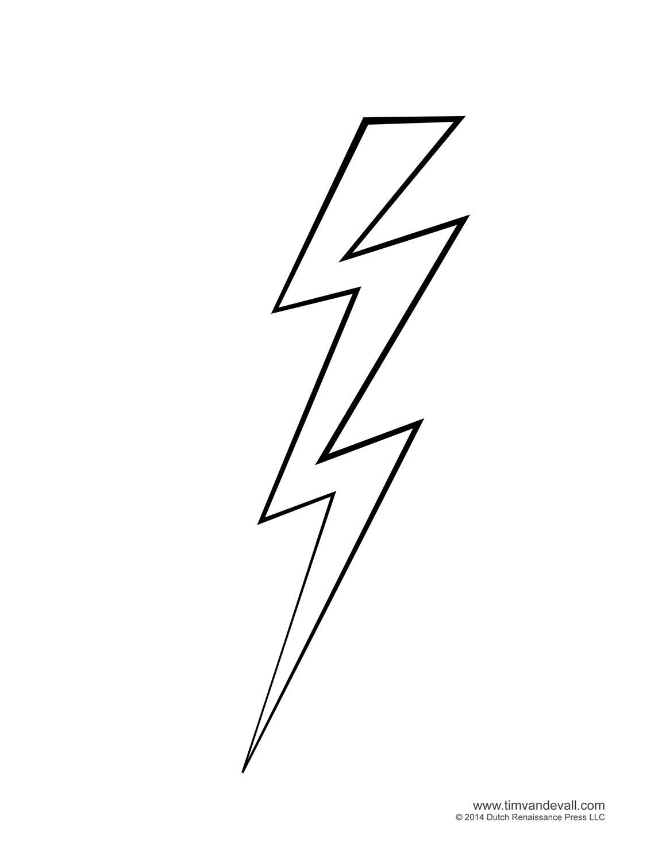 White lightning bolt clip art vector free clipart image