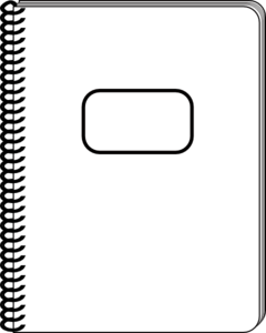 White Notepad Clip Art At Clker Com Vector Clip Art Online Royalty