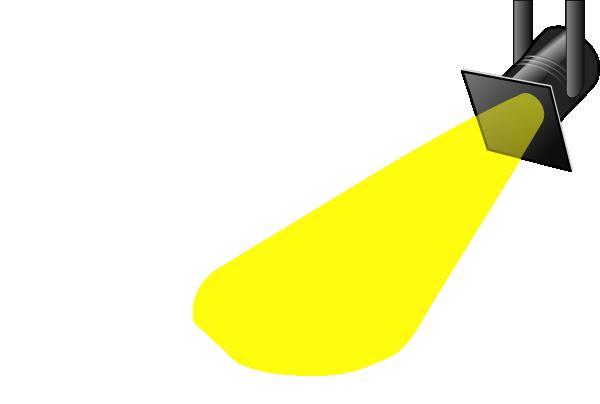 Spotlight light. Spot clip art