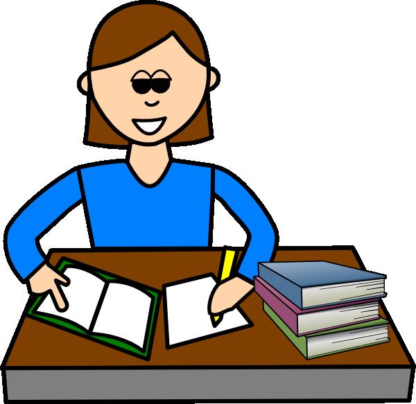 White Students Studying .-White Students Studying .-17