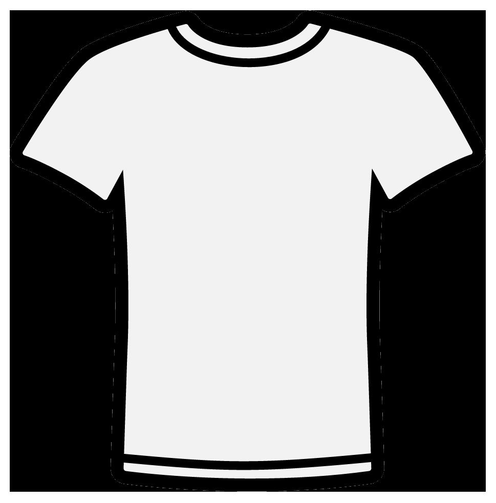 White T Shirt Clip Art Clipar - Tshirt Clip Art