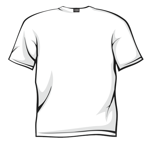 White T Shirt Clipart Clipart Best