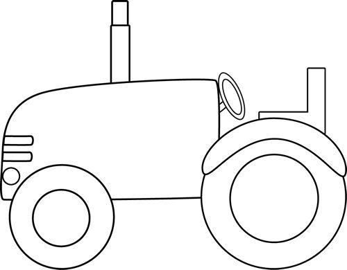 White Tractor Clip Art Image .-White Tractor Clip Art Image .-13