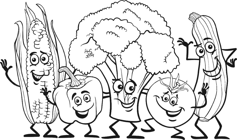 white vegetable gardening . - Garden Clipart Black And White