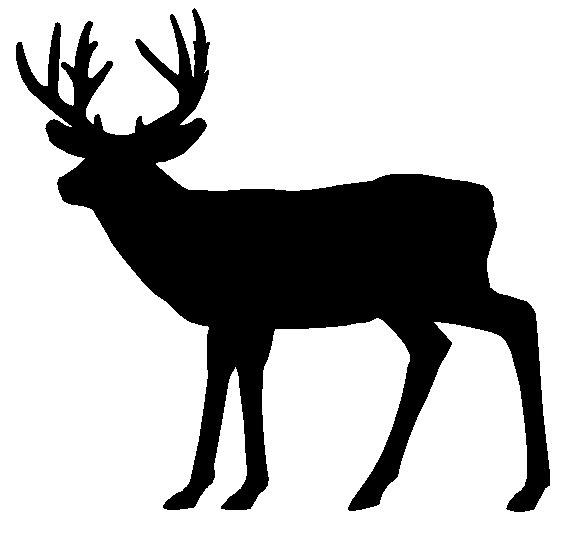Whitetail Deer Clip Art-Whitetail Deer Clip Art-0
