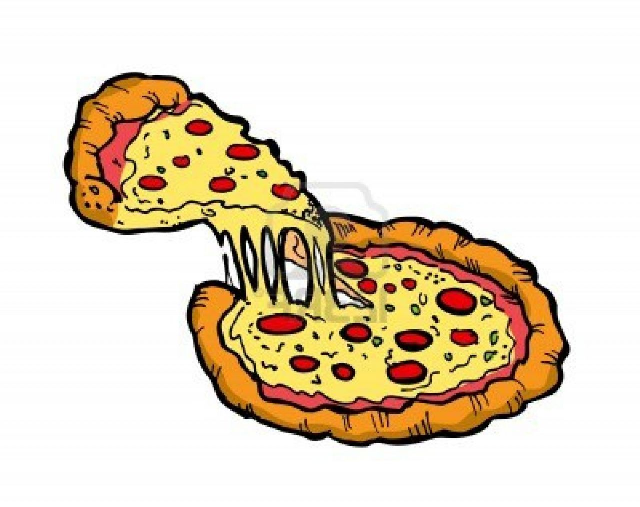 Whole Pepperoni Pizza Clipart Pizza Clipart 53bde6cd2d59d Jpg