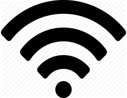 Wifi Clipart Black And White | Letters Example for Wifi Clipart Black And  White 22547
