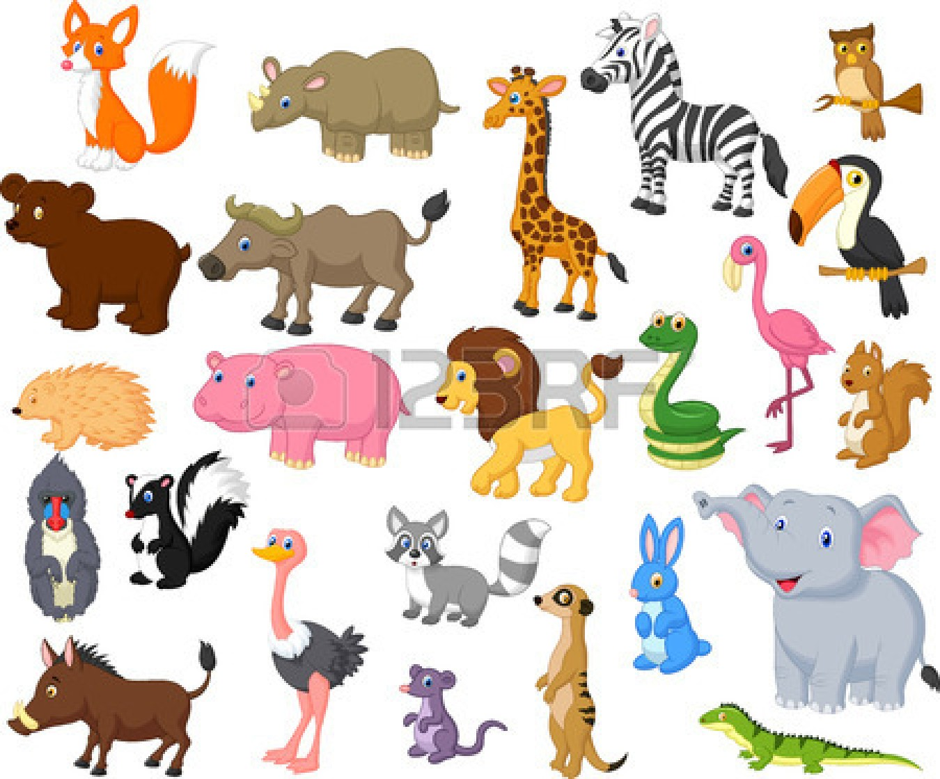 Wild Animal Park Clipart