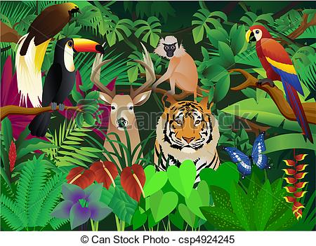 wild animal Stock Illustrationsby ...