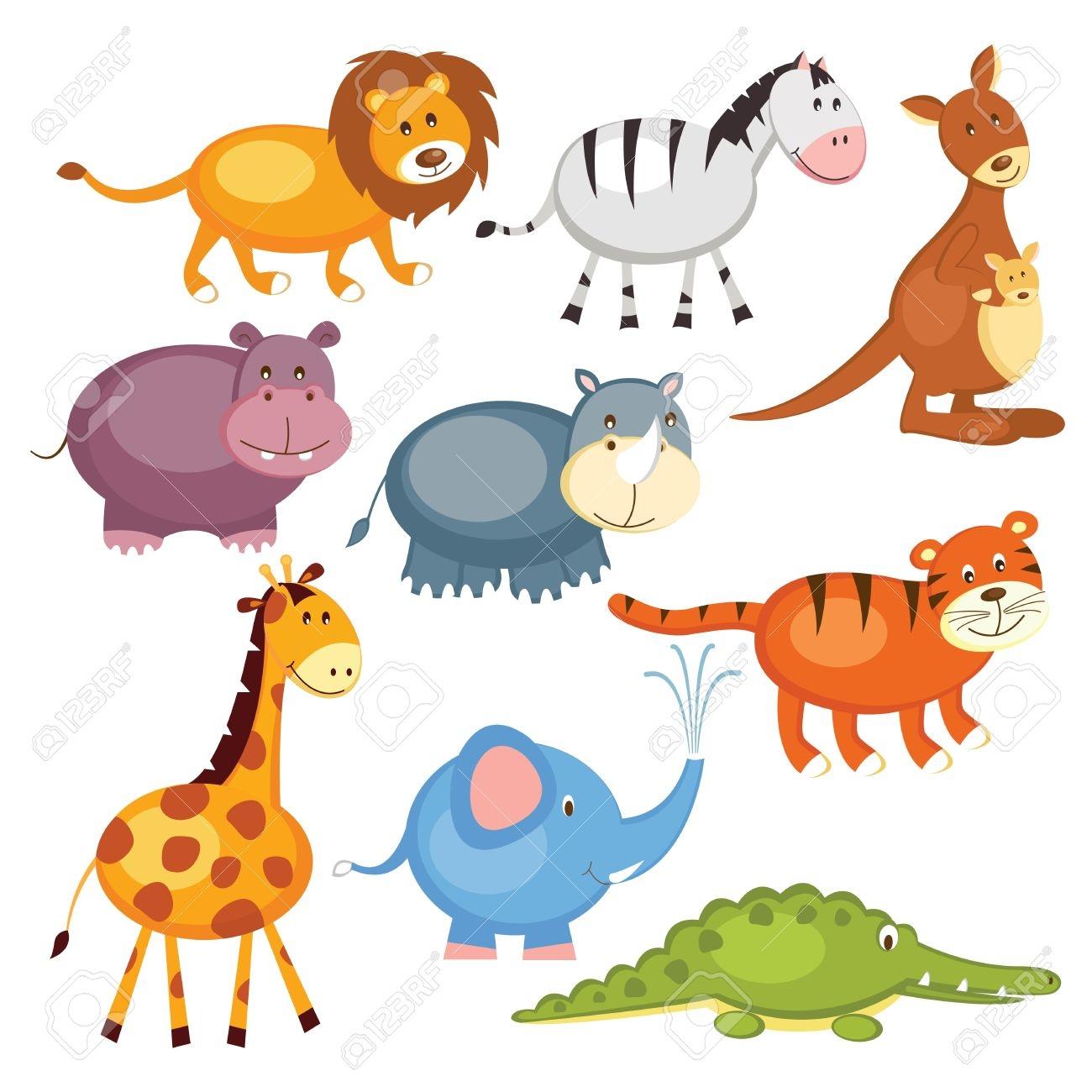 Wild Animal - Wild Animals Clipart