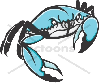 Wild Blue Crab - Blue Crab Clipart