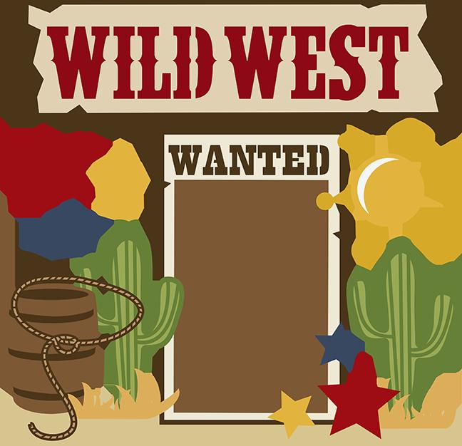 Wild West Clipart Item 5 Vector Magz Free Download Vector