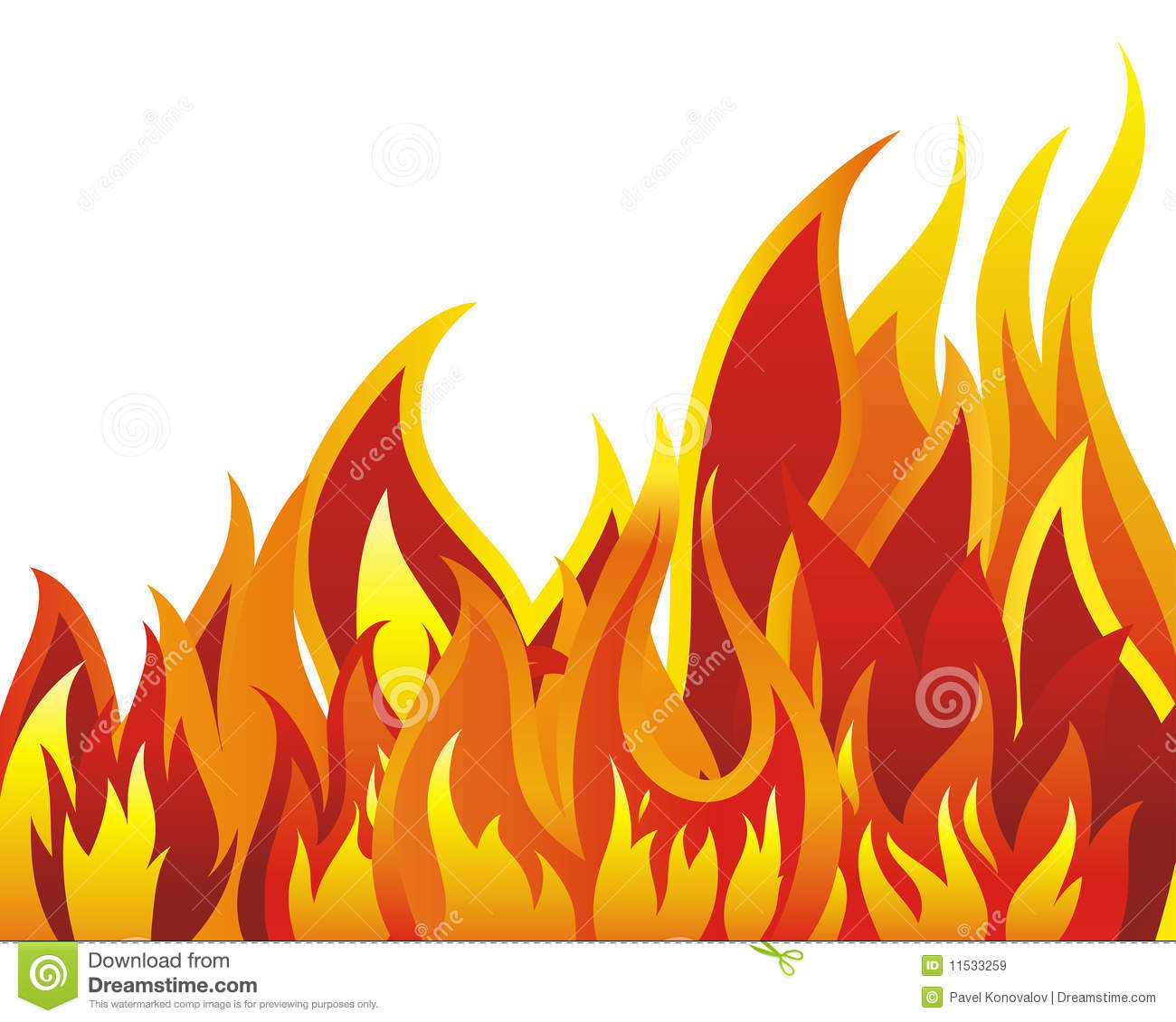 Flame royalty free. Fire clipart clipartlook