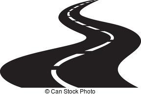 Winding Road Clip Art - .-Winding Road Clip Art - .-10