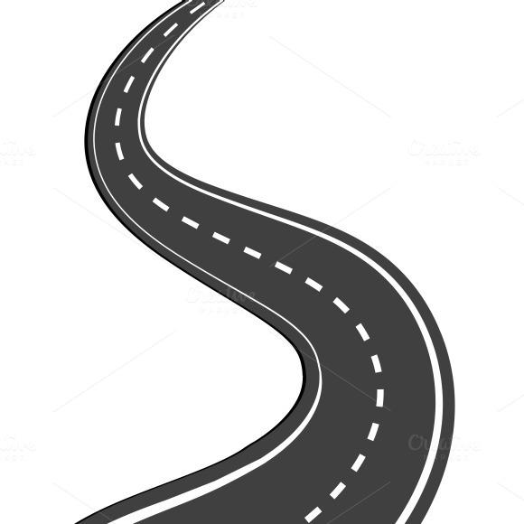 Winding Road Illustrations On Creative M-Winding Road Illustrations On Creative Market-13