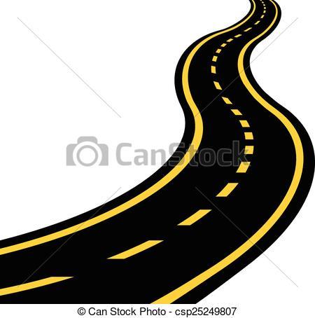 ... Winding Road Vector Eps 10-... Winding road vector eps 10-16
