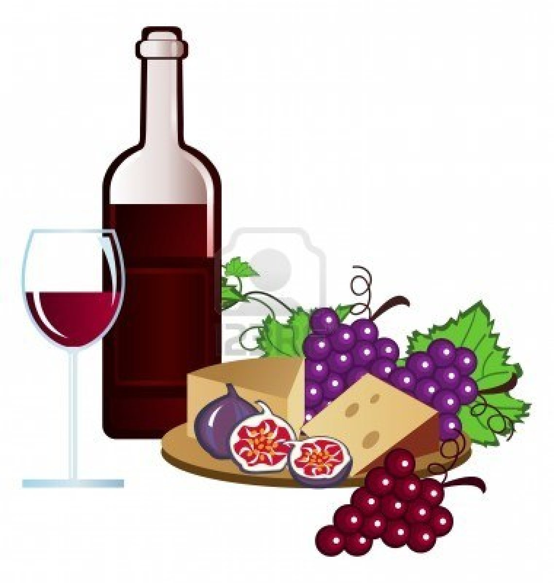 Wine And Cheese Clip Art Viewing Gallery-Wine And Cheese Clip Art Viewing Gallery-8