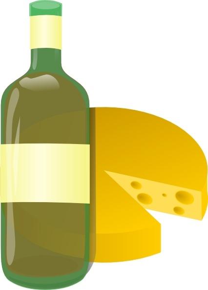 Wine And Cheese Clip Art-Wine And Cheese clip art-8