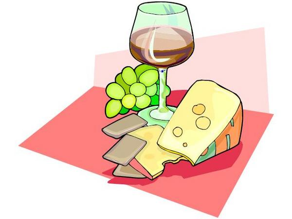 Wine And Cheese Clipart-Wine and Cheese Clipart-10