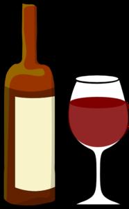 Wine Bottle Clipart #1
