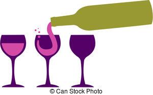 ... Wine bottle serving wineglasses - Bottle serving red wine in.