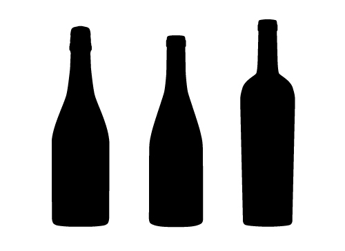 Wine Bottle Silhouette Clipart-Wine Bottle Silhouette Clipart-15