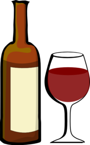 Wine Bottle Clipart #1 - Wine Clipart