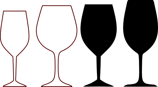wine glass clipart   Wine Glasses Silhou-wine glass clipart   Wine Glasses Silhouette clip art - vector clip art online, royalty ...   Clipart   Pinterest   Wedding, Clip art and Births-13