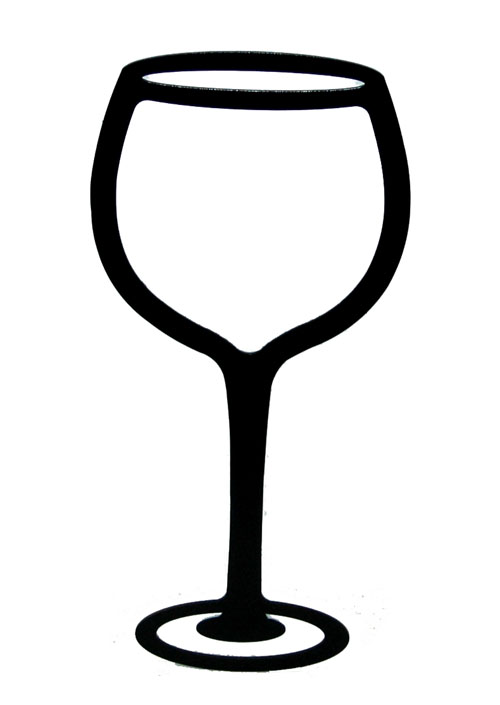 wine glasses clipart .