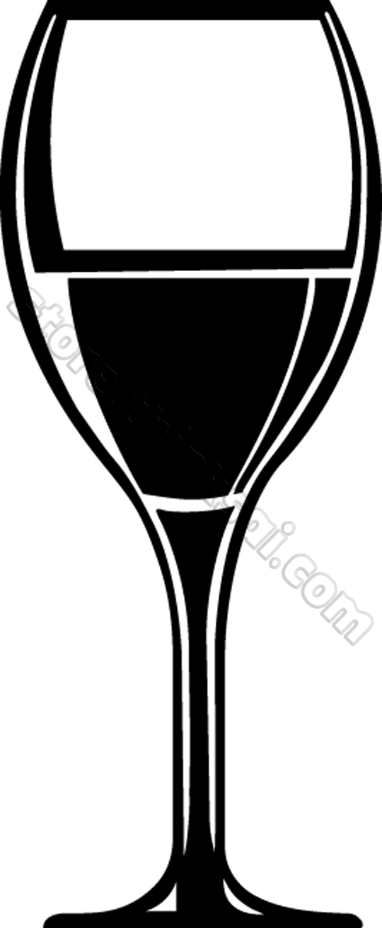 wine glasses clipart free .