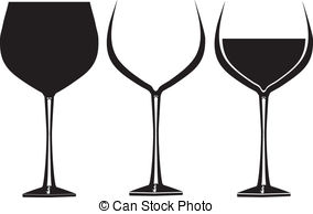 ... Wine glasses in graphic - Wine glasses in graphic for use in.
