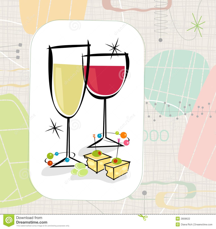 Wine Party Clip Art ..-Wine Party Clip Art ..-17