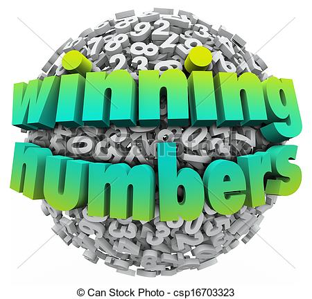 ... Winning Numbers Ball Lottery Jackpot Game Sweepstakes -.