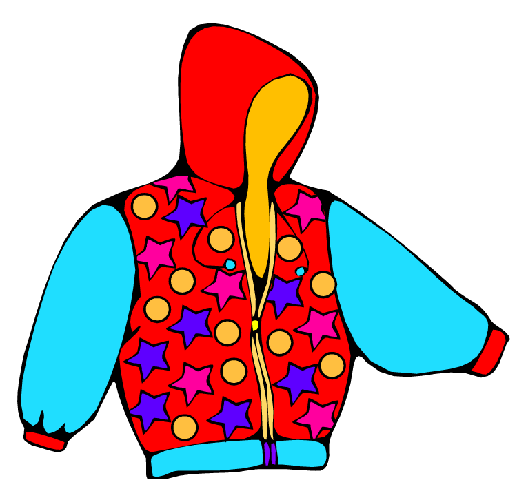 winter coat clipart