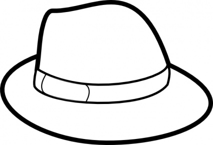Winter Hat Clipart Black And White-winter hat clipart black and white-19