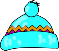 winter hat clipart