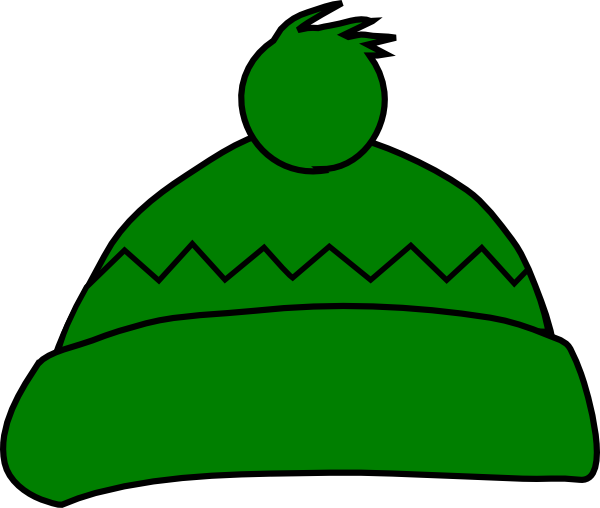 winter hat clipart - Wooly Hat Clipart