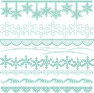 Winter Borders SVG cutting files winter -Winter Borders SVG cutting files winter svg cuts winter border clipart winter free svg cuts-14