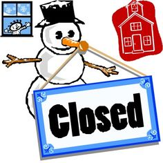 ... Winter break no school cl - No School Clipart