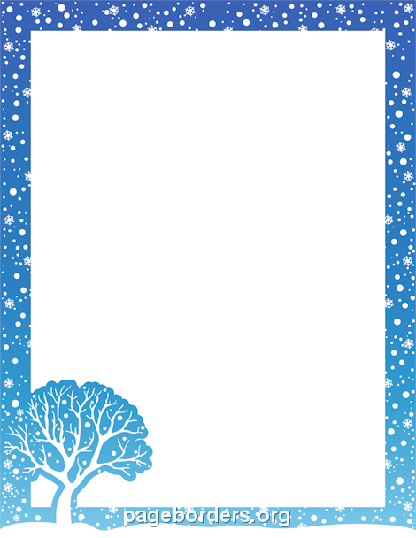Winter Clip Art Borders Winter .-winter clip art borders winter .-18