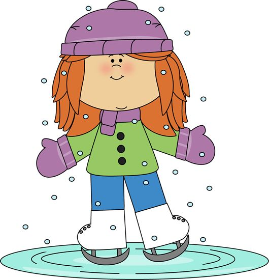 Winter Clip Art | Pinterest | Graphics, Girls and Ice skating