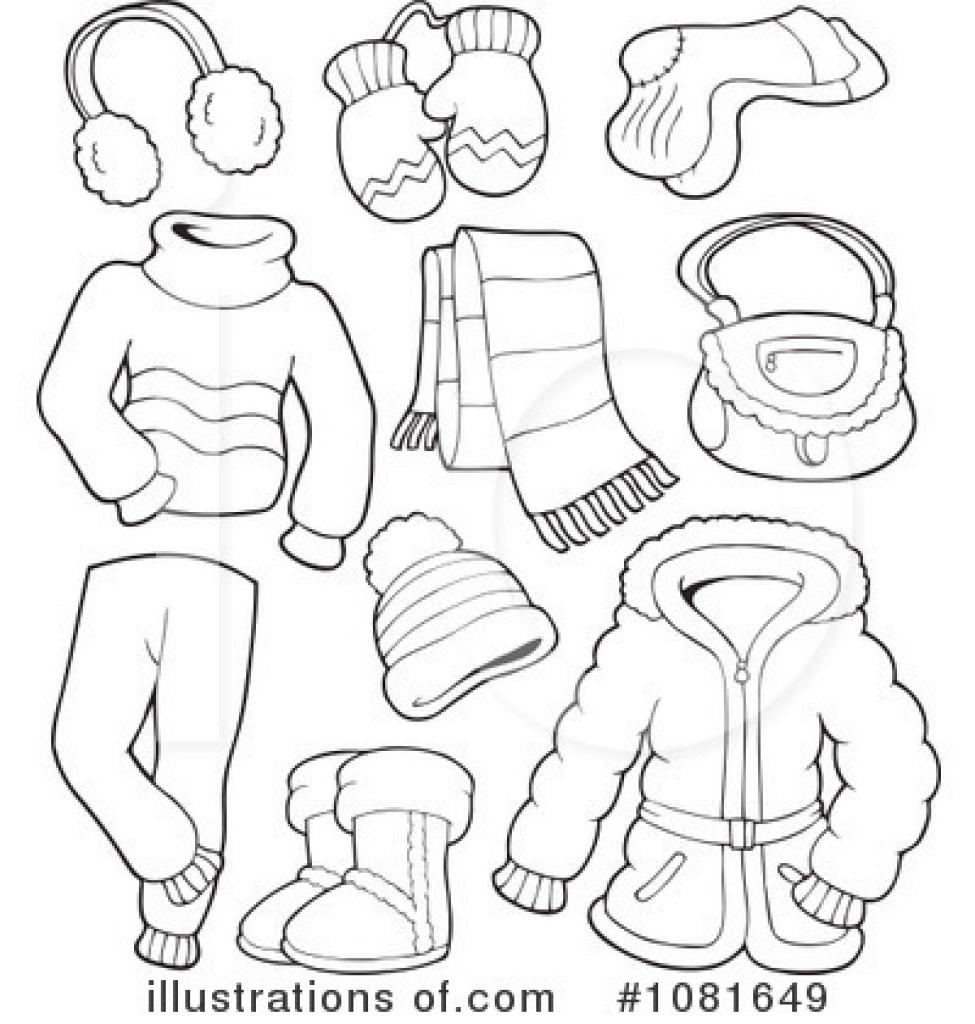 Winter Clothes Clipart 1081649 Illustrat-winter clothes clipart 1081649 illustration visekart throughout winter clothing clipart winter clothing clipart-14